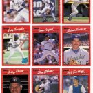 1990 Donruss Milwaukee Brewers Team Set-25 Cards