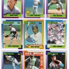 1990 Topps Milwaukee Brewers Team Set-31 Cards