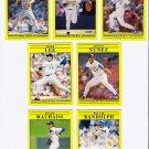 1991 Fleer Update Milwaukee Brewers-7 Cards
