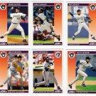 1992 Score Update & Rookies Milwaukee Brewers-6 Cd