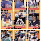 1988 Donruss Baseballs Best Minnesota Twins-12 Cd
