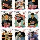 1988 Fleer Minnesota Twins Team Set-25 Cards