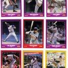 1988 Score Minnesota Twins Team Set-22 Cards