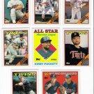 1988 Topps Minnesota Twins Team Set-31 Cards