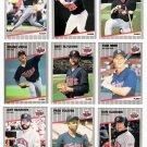 1989 Fleer Minnesota Twins Team Set-26 Cards
