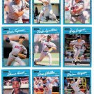 1990 Donruss Best of A.L. Minnesota Twins-10 Cards