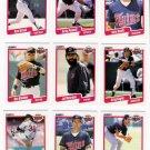 1990 Fleer Regular & Update Minnesota Twins-28 Cds