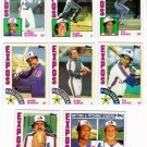1984 Topps Montreal Expos Team Set-31 Cards