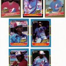 1985-87 Donruss Highlights Montreal Expos-7 Cards
