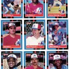 1988 Donruss Montreal Expos Team Set-23 Cards