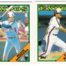 1988 Topps Traded Montreal Expos Team Set-2 Cards