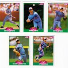 1989 Score Update Montreal Expos Team-5 Cards
