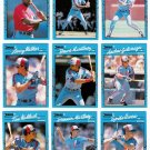 1990 Donruss Best of N.L. Montreal Expos-11 Cards