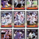 1985-87 Donruss Highlights New York Yankees-16 Cards