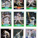 1989 Score New York Yankees Team Set-26 Cards
