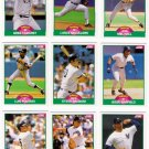 1989 Score Update New York Yankees Team-13 Cards