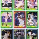 1990 Score New York Yankees-30 Cards