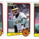 1983 Donruss Oakland Athletics Team Set-26 Cards