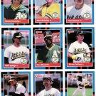 1988 Donruss Oakland Athletics Team Set-23 Cards