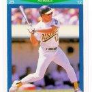 1990 Score Rising Stars Oakland Athletics-1 Card