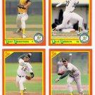 1990 Score Update & Rookies Oakland Athletics-4 Cd