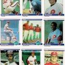 1984 Fleer Philadelphia Phillies Set-28 Cards