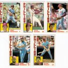 1984 Topps Traded Philadelphia Phillies Set-5 Cards