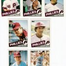 1985 Topps Traded Philadelphia Phillies Set-7 Cards