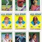 1988 Topps Philadelphia Phillies Set-33 Cards