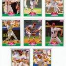 1989 Score Update Philadelphia Phillies-8 Cards