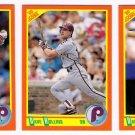 1990 Score Update & Rookies Philadelphia Phillies-3 Cd