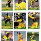 1984 Donruss Pittsburgh Pirates Team Set-24 Cards