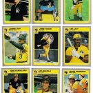 1985 Fleer Pittsburgh Pirates Team Set-22 Cards