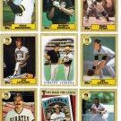 1987 Topps Pittsburgh Pirates Team Set-28 Cards (No Bonds)