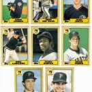 1987 Topps Traded Pittsburgh Pirates Team Set-8 Cards