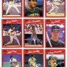 1990 Donruss Pittsburgh Pirates Team Set-23 Cards