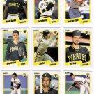 1990 Fleer Regular & Update Pittsburgh Pirates-29 Cds