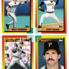 1990 Topps Traded Pittsburgh Pirates Team Set-4 Cards