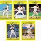1991 Fleer Update Pittsburgh Pirates-5 Cards