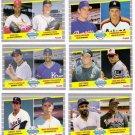 1989 Fleer Rookie Lot-6 Cards
