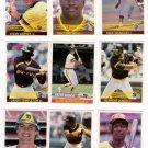 1984 Donruss San Diego Padres Team Set-23 Cards