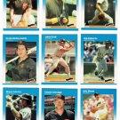 1987 Fleer San Diego Padres Team Set-26 Cards