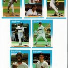1987 Fleer Update San Diego Padres Team-7 Cards