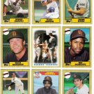 1987 Topps San Diego Padres Team Set-28 Cards