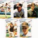 1988 Fleer Update San Diego Padres Team Set-6 Cards