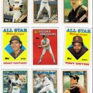 1988 Topps San Diego Padres Team Set-31 Cards