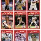 1990 Donruss San Diego Padres Team Set-28 Cards