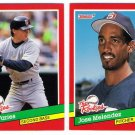 1991 Donruss The Rookies San Diego Padres-2 Cards