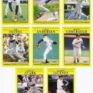 1991 Fleer Update San Diego Padres-8 Cards