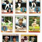 1983 Topps San Francisco Giants Set-32 Cards